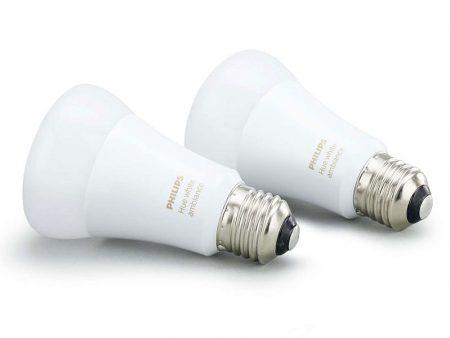 Glödlampa Philips Hue White Ambiance 9,5W E27 2-pack