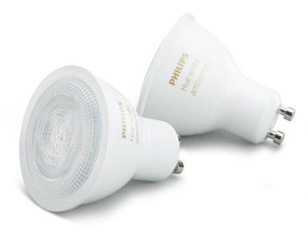 Glödlampa Philips Hue White Ambiance 5.5W GU10 2-Pack
