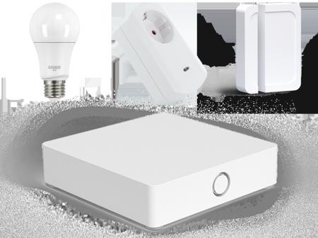 Startpaket för smart styrning av belysningen